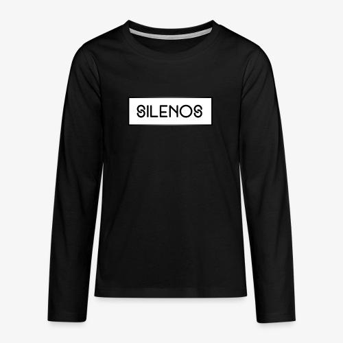 silenosmerch7 png - Teenager Premium Langarmshirt