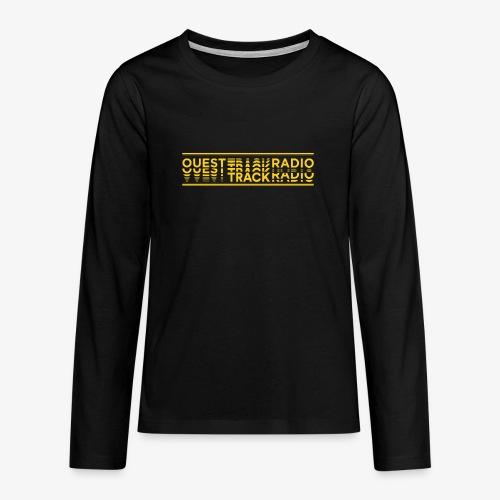 Logo Long jaune - T-shirt manches longues Premium Ado