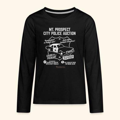 Mount Prospect Police Auction Geek T-Shirt - Teenager Premium Langarmshirt