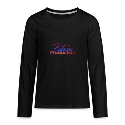 PATACCA PRODUCTION - Maglietta Premium a manica lunga per teenager