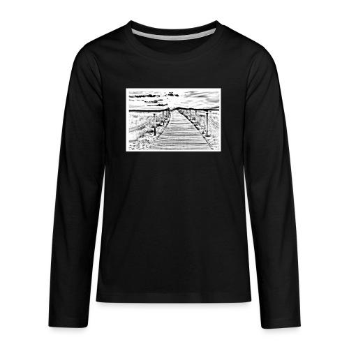 Dont judge my Journey - Teenager Premium Langarmshirt
