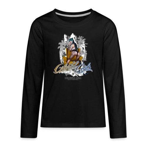 iinked Sabrina - Teenager Premium Langarmshirt