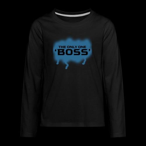 the only one BOSS - Teenager Premium Langarmshirt