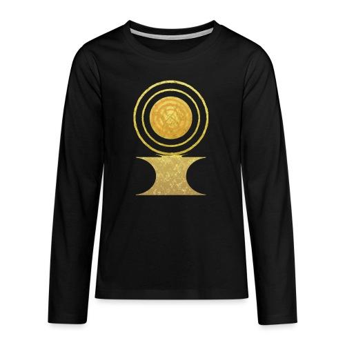 Native America Indianer Symbol Hopi ssl Sonne - Teenager Premium Langarmshirt