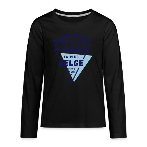 La+Belge - T-shirt manches longues Premium Ado