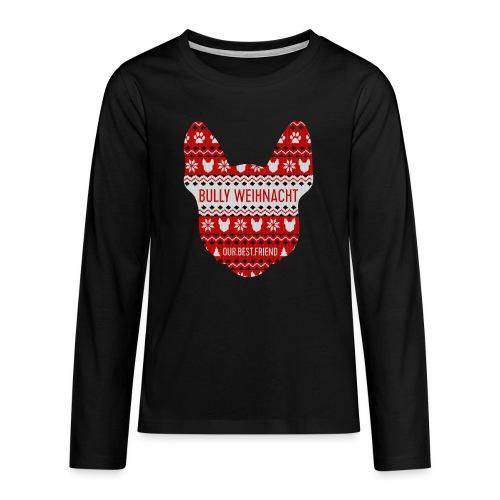 Bully Weihnacht Part 3 - Teenager Premium Langarmshirt