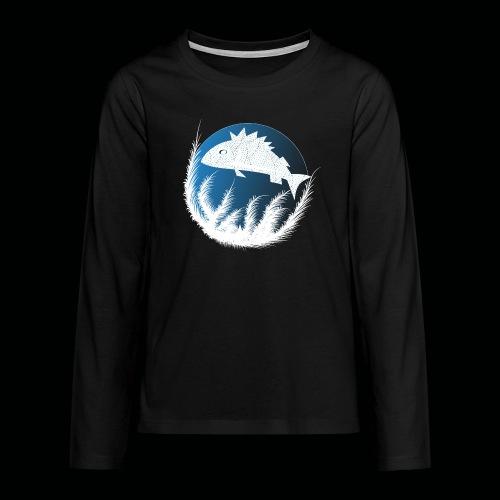 Fisch - Teenager Premium Langarmshirt