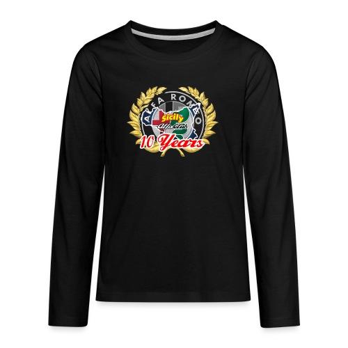 logo10 anni - Maglietta Premium a manica lunga per teenager