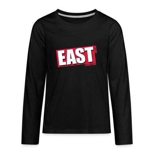 EAST - Teenager Premium Langarmshirt