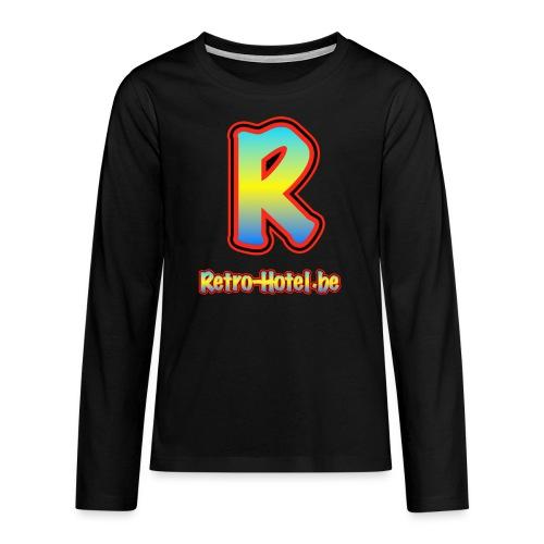 tshirtlogo png - Teenager Premium shirt met lange mouwen