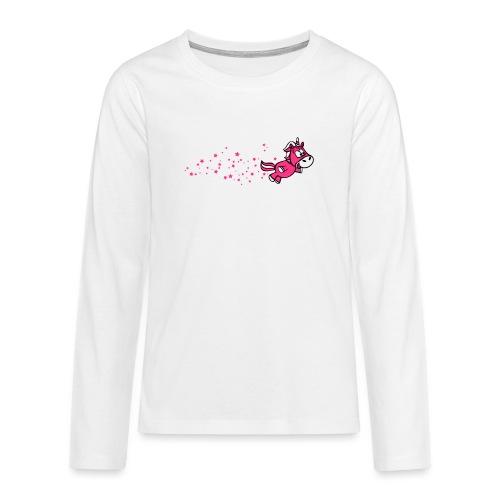Pferdchen Sternenstaub - Teenager Premium Langarmshirt