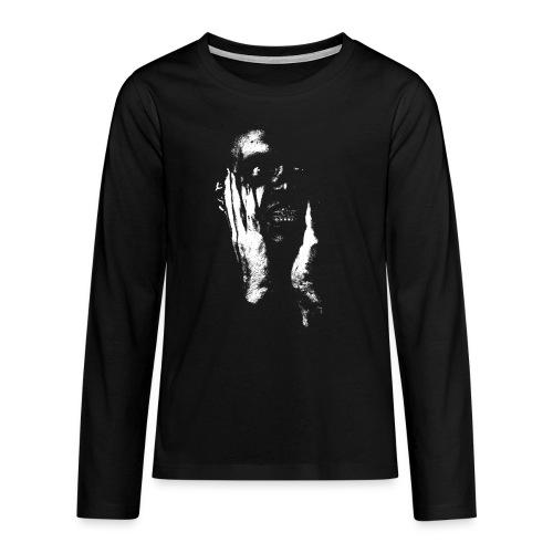Realization - Teenager premium T-shirt med lange ærmer