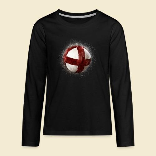 Radball   Cycleball - Teenager Premium Langarmshirt