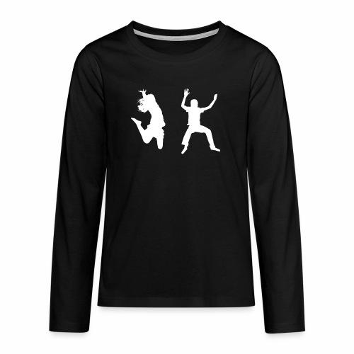 Trampoline - Teenagers' Premium Longsleeve Shirt