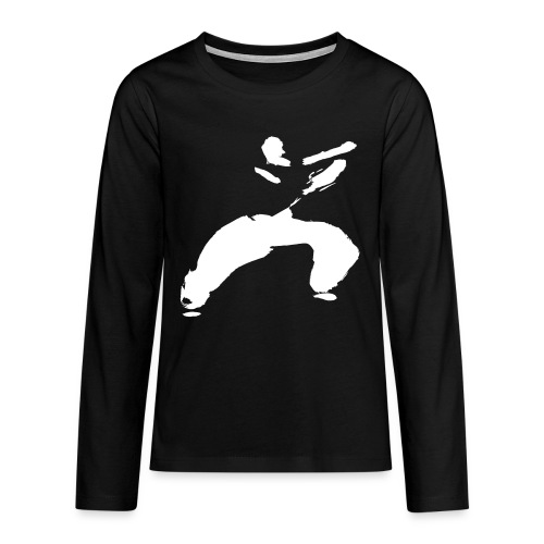 kung fu - Teenagers' Premium Longsleeve Shirt
