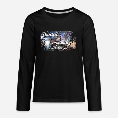 Dansih community - fivem2 - Teenager premium T-shirt med lange ærmer