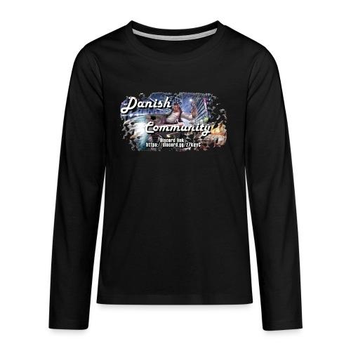 fivem2 - Teenager premium T-shirt med lange ærmer