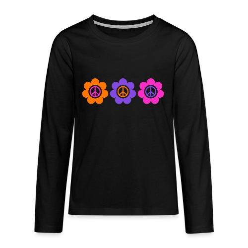 Power Flowers Of Peace Trilogy 1 - Teenager Premium Langarmshirt