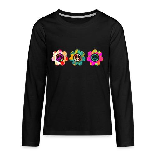 Power Flowers Of Peace Trilogy 3 - Teenager Premium Langarmshirt