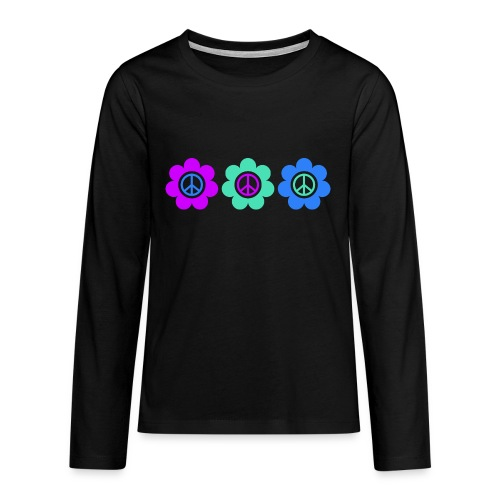 Power Flowers Of Peace Trilogy 2 - Teenager Premium Langarmshirt