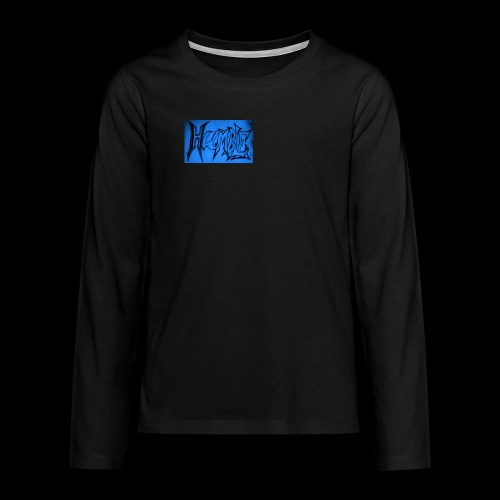 HUMBLE BLUE - Teenagers' Premium Longsleeve Shirt
