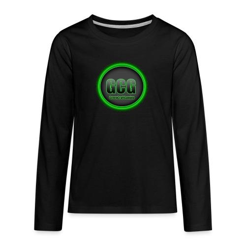 Logo 2 png - Teenagers' Premium Longsleeve Shirt