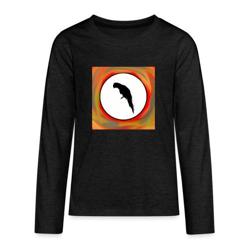 Papagei - Teenager Premium Langarmshirt