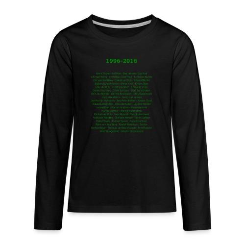 tekening4 - Teenager Premium shirt met lange mouwen