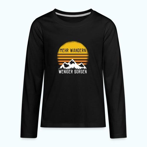 hike - Teenagers' Premium Longsleeve Shirt