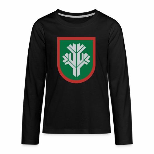 sissi - Teinien premium pitkähihainen t-paita