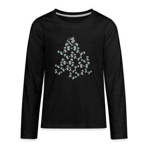 PANDA SHIRT V2 - Teenager Premium shirt met lange mouwen