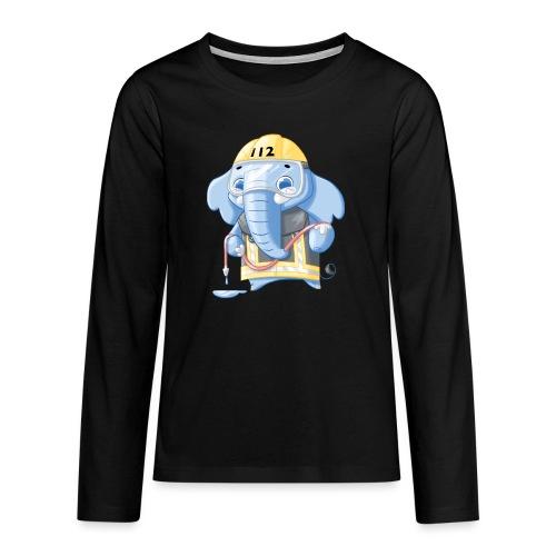 Feuerwehr Elefant - Teenager Premium Langarmshirt