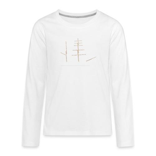 EZS T shirt 2013 Back - Teenager Premium shirt met lange mouwen