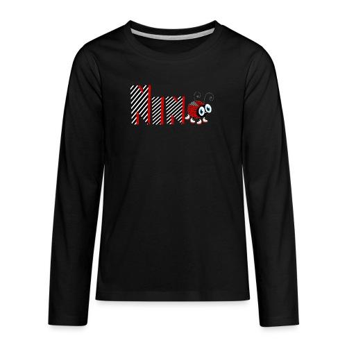 9nd Year Family Ladybug T-Shirts Gifts Daughter - Teenager Premium Langarmshirt