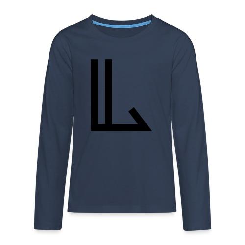 L - Teenagers' Premium Longsleeve Shirt
