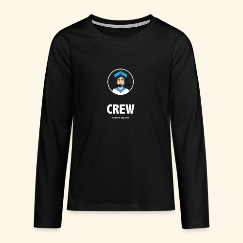 SeaProof Crew - Teenager Premium Langarmshirt