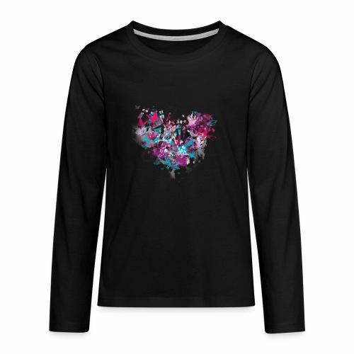 Love with Heart - Teenagers' Premium Longsleeve Shirt