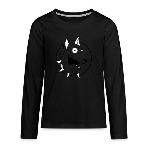 chien fou - T-shirt manches longues Premium Ado