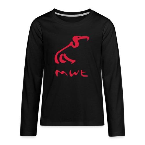 mwt avec nom - Teenager Premium Langarmshirt