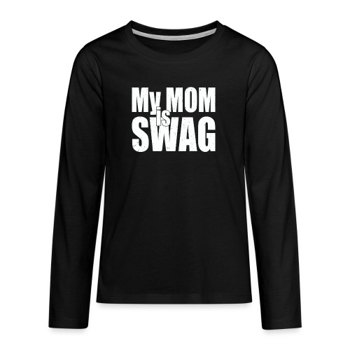 Swag White - Teenager Premium shirt met lange mouwen