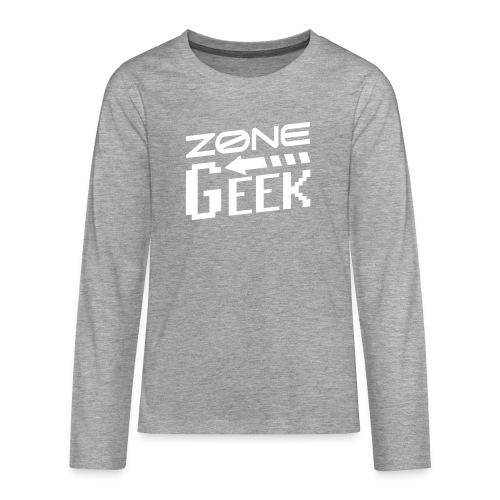 NEW Logo Homme - T-shirt manches longues Premium Ado