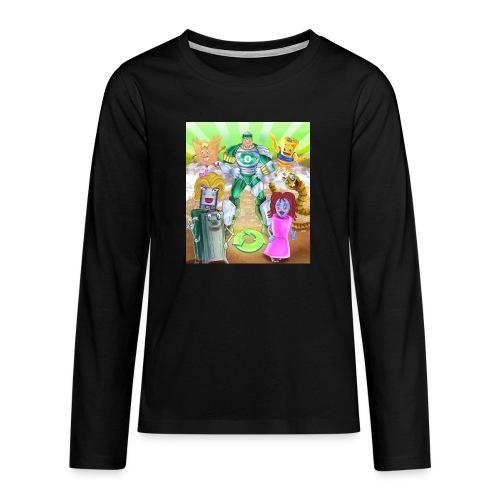 Captain Reece Icle - Teenagers' Premium Longsleeve Shirt