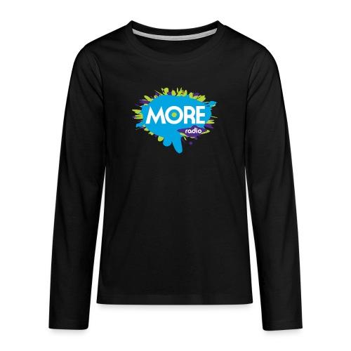 More Radio 2017 - Teenager Premium shirt met lange mouwen
