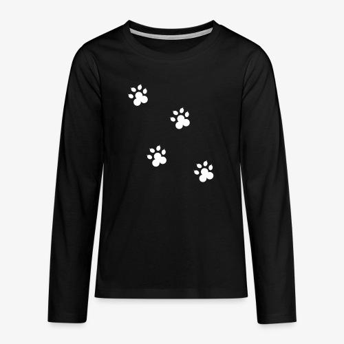 cat - Koszulka Premium z długim rękawem dla nastolatków