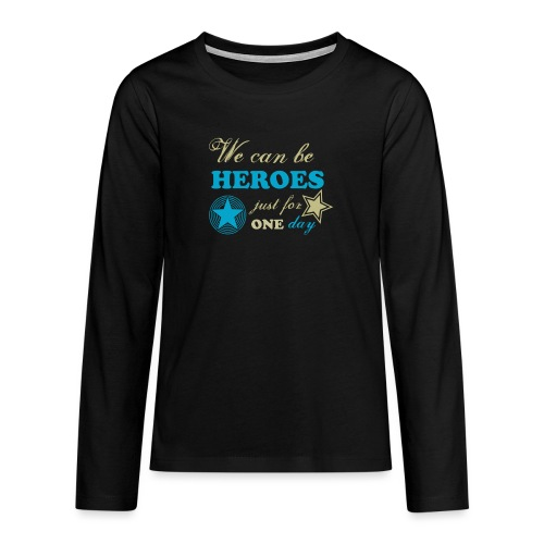 heroes - T-shirt manches longues Premium Ado
