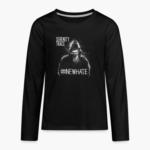 #NewHate Male - Premium langermet T-skjorte for tenåringer