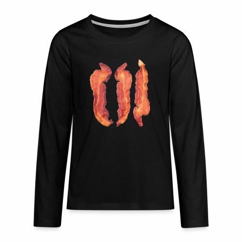 Bacon Strips - Maglietta Premium a manica lunga per teenager