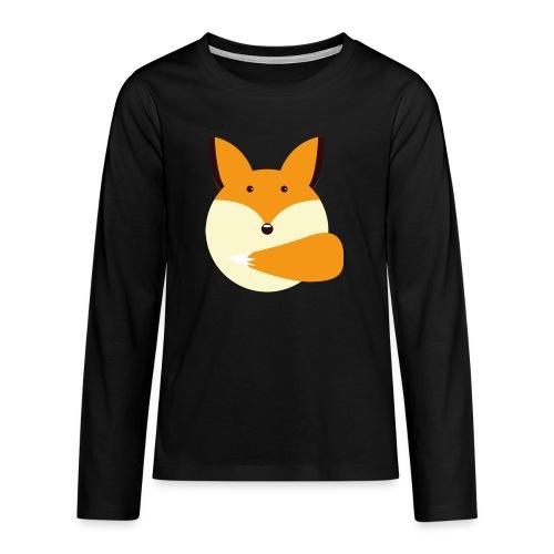 Fuchs Norbi - Teenager Premium Langarmshirt