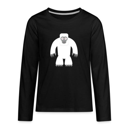 Yeti - Teenager Premium Langarmshirt