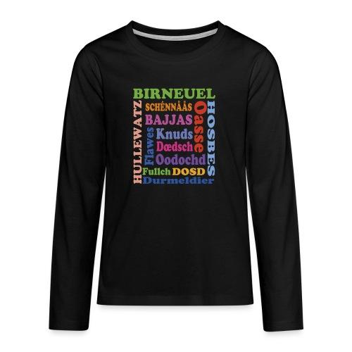 schimpf - Teenager Premium Langarmshirt